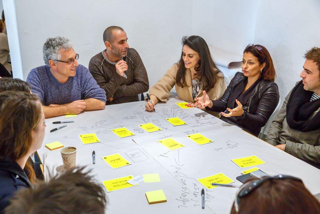 שיעור מוחות וסדנא לכל משתתפי הפרויקט