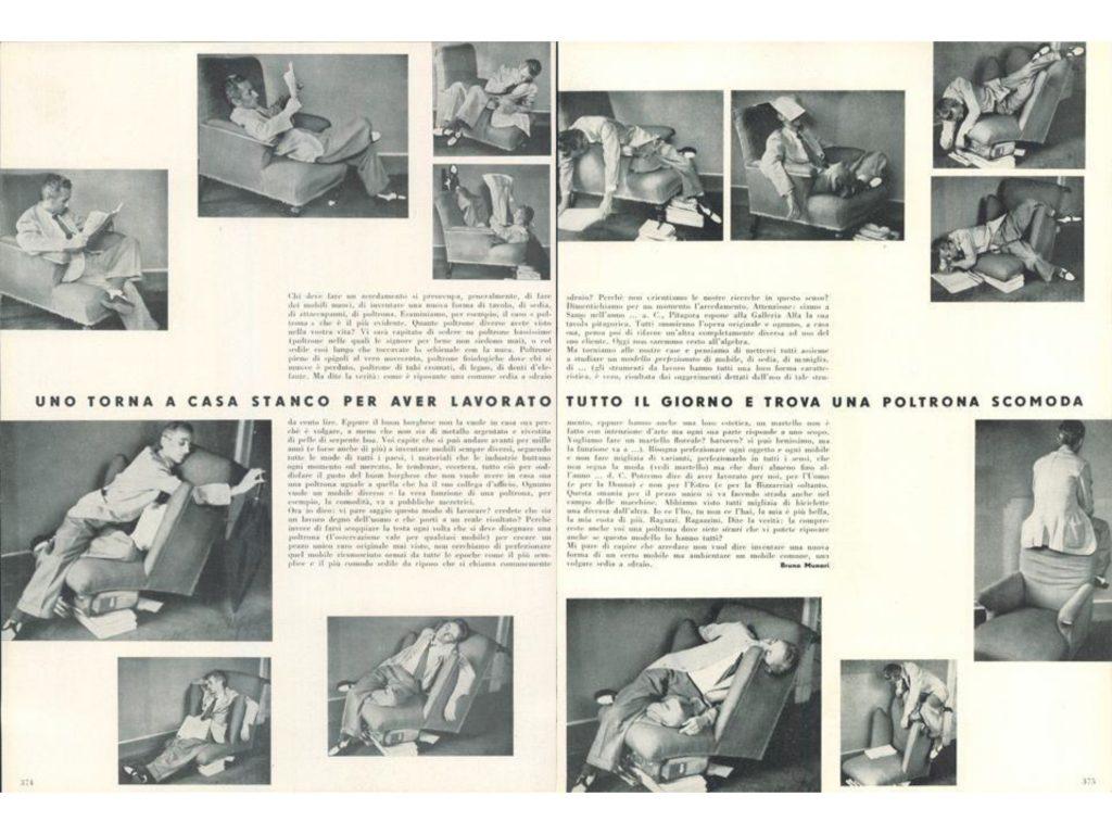ברונו מונארי למגזין Domus מ־1944