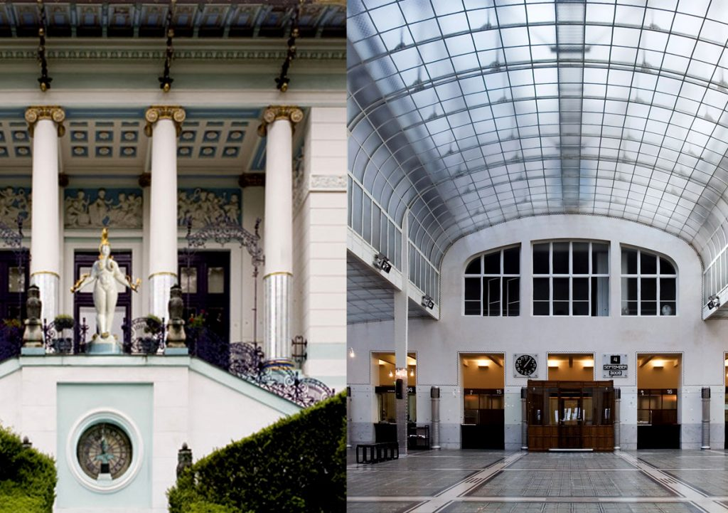 Postal Savings Bank Otto Wagner / First Villa Otto Wagner