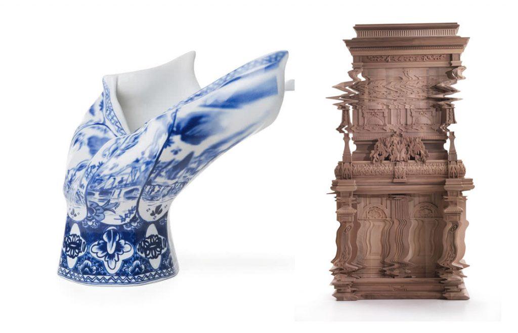Good Vibration Ferruccio Laviani / Blow Away Vase Front Design