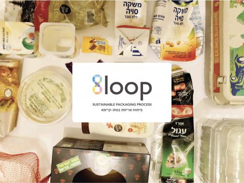 8Loop -  תהליך פיתוח לאריזות מזון בנות קיימא