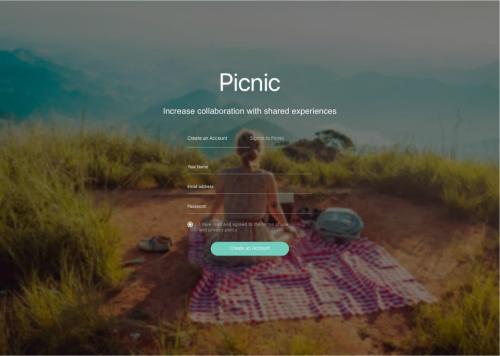 פיקניק - שיתוף חוויות יומיומיות בצוותים העובדים מרחוק